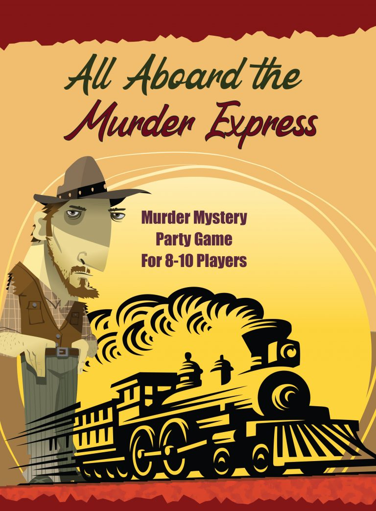 8-10 Players: All Aboard the Murder Express - Coming Soon!