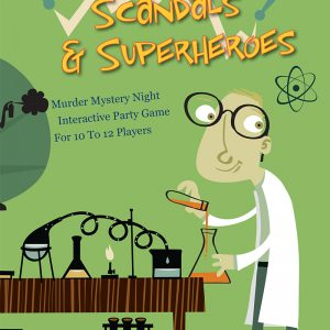10-12 Players: Secrets, Scandals & Superheroes
